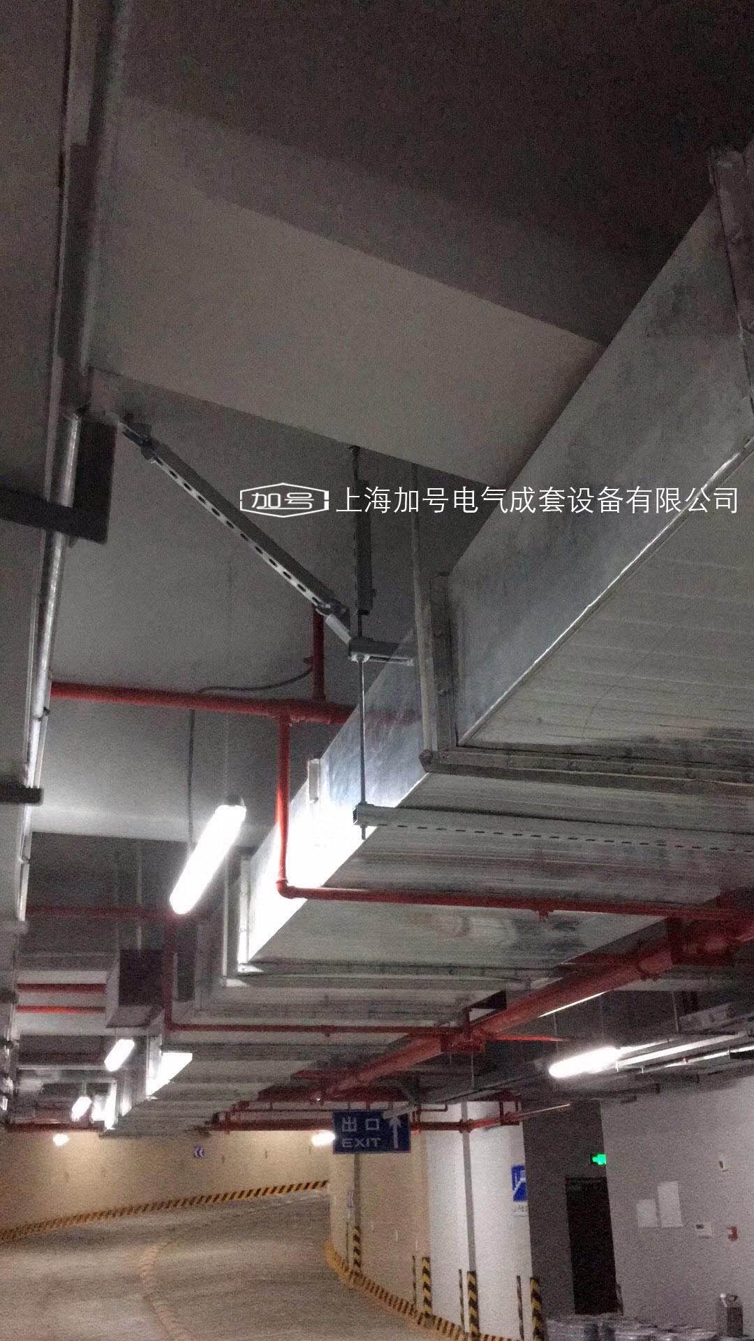 停车场 抗震矩形风管支架